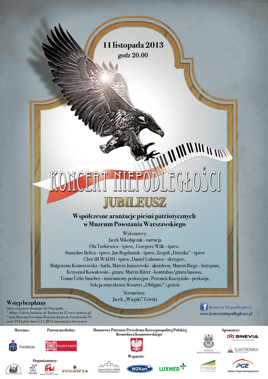 Plakat KN2013 Jubileuszowy