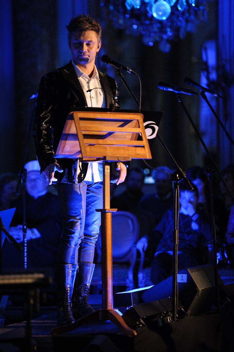 Grzegorz Wilk. Koncert Niepodległości Trzeciego Maja. Zamek Królewski w Warszawie 3.05.2013. Fot. Tomasz Prałat