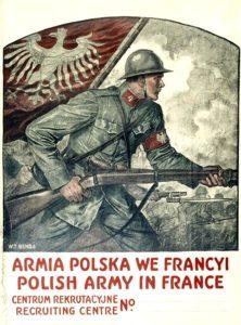 W. T. Benda. Polski plakat wojenny. Nowy Jork 1917