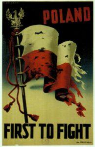 M. Żurawski. Polski plakat wojenny. Kair 1942